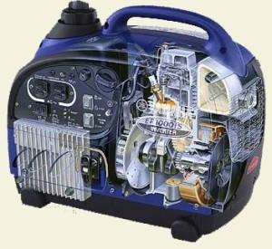 Quality YAMAHA 1000watt Inverter Generator (EF1000IS) wholesale