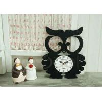 Quality Owl Shape Home Decor Clocks wholesale