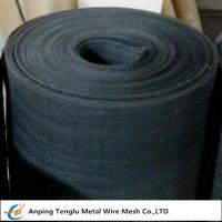 Quality Black Iron Wire Cloth|Plain Steel Wire Mesh Cloth by Plain Twill Dutch Weave for Filter wholesale