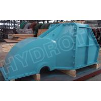 Quality Pelton Water Turbine / Pelton Hydro Turbine With Forged CNC Wheel For 530m Head Hydropower Station wholesale