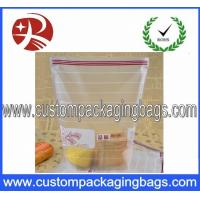 Quality OPP Plastic Food Grade Bags With Side Seal , Reusable Bread Bags for sale