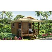 China China Wooden fast assemble light steel frame Beach Bungalows on sale