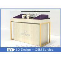 Quality Quarter Vision Jewellery Shop Display Counter With LED Pole lights wholesale