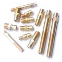 Quality Brass Pipe Nipple , Mold Standard Component wholesale