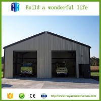 China Prefab iso standard steel structure construction warehouse and plant on sale