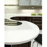 China Pure White Corian Solid Surface Counter Top (T-O) on sale
