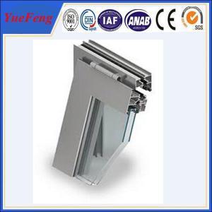 China 13 years 6063 aluminium window and door frame professor, new aluminium extrusion for doors on sale