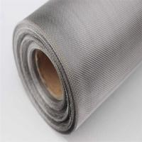 China Stainless Steel Woven Wire Mesh Screen Welded Perforated with Square Hole on sale