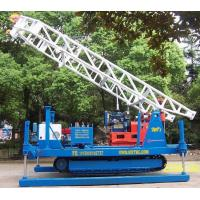 Quality Hydraulic Chuck Crawler Drilling Rig Hydraulic , Portable Drilling Machine wholesale