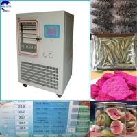 China Vacuum Freeze Dryer For Food And Pharmaceutals Production, Commerical Freeze Dryer Price, Instant Coffee Freeze Dried on sale