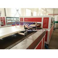 China Plastic Pvc Door Manufacturing Machine Saw Blade Cutting With PLC Control System on sale