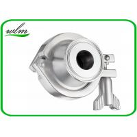 Quality Pharmaceutical Sanitary Stainless Steel Check Valve With Acid And Corrosion Resistance wholesale