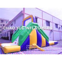 Quality 0.55mm PVC Small Inflatable Slide Mini Inflatable Water Slide With Water Pool wholesale