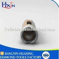 Quality Overall length for 60mm for Stone/Ceramic/Glass Golden Brazed Diamond Core Drill Bit wholesale