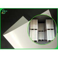 China FDA Approved Adiabatic Single Coated PE Paper For Making Lunch packaging Box on sale