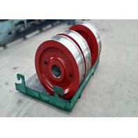 Quality Heat Treatment Industry Rail Mounted Casting Wheel Forged Steel Crane Wheels wholesale