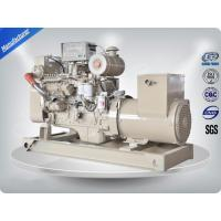 Quality Stamford Alternator 3 Phase Marine Generator Set 8.3 Liter Displacement wholesale