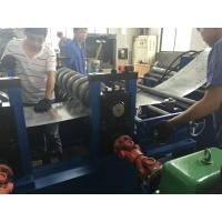 Quality 8 M / Min Cable Tray Rolling Forming Machine 80 - 600mm Profile Width Around 20 Tons wholesale