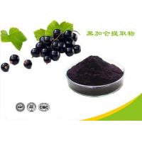 Quality Natural Water Soluble Freeze Dried Black Currant Extract Powder Anthocyanins wholesale