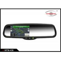 Quality Wireless 4.3 Inch TFT LCD Rear View Mirror Navigation System Backup Camera wholesale
