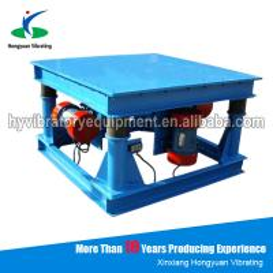Quality Durable electronic Concrete Vibration Table for bulk material handling wholesale