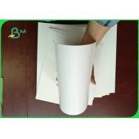 100% Virgin Wood Pulp 300g Cardboard Paper Roll / Ivory Board Paper For Book Cover