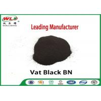 Quality Permanent Vat Dyes Black Bn Wool Fabric Dye Synthetic Organic Dyestuffs wholesale