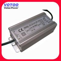 Cheap Light Weight 24V 5A Waterproof Power Supply , Outdoor LED Light Driver for sale