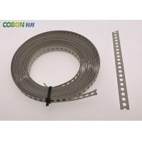 Quality Perforated Metal Fixing Band 10m Galvanized Steel With Color Powder Coated wholesale