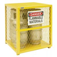 Quality High Durability Gas Bottle Storage Cage Compliant With OSHA / NFPA Standard wholesale