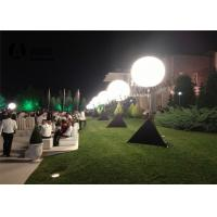 Cheap Standing Tripod Ball Inflatable Lighting Decoration / Inflatable Advertising Products for sale