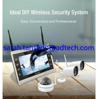 """Quality 4CH 960P Wifi IP Cameras, Wifi NVR Kit, Wireless NVR with 11"""" HD LCD Display Screen wholesale"""