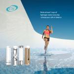 Chuanghui 350ml Intelligent Portable Hydrogen Rich Water Ionizer Maker Generator Bottle Anti Aging Colorful Light