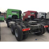 Quality Capacity 25 - 40 Tons Cargo Truck Chassis SINOTRUK HOWO ZZ1257N4641W TR691 Tyre wholesale