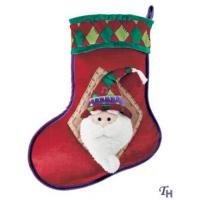 Quality Personalised Christmas Gifts of  Santa Claus Hats and Socks for Adult and Children wholesale