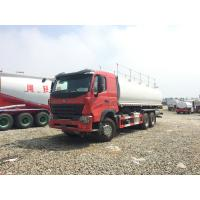 Quality Manual Transmission Fuel Truck Trailer / 3 Axle Trailer 15001 - 30000L wholesale