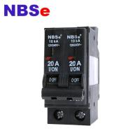 Quality NBSe NT Series Plug Fuse Circuit Breaker 1 Phase 2P 20A Mini Type For Automotive wholesale