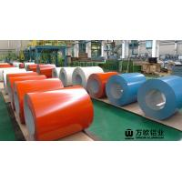 Quality 900-1500mm Width Coil Coated Aluminium For Construction And Decoration wholesale