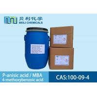 Quality White crystalline powder 	P-anisic Acid 100-09-4 99.0% purity with stock wholesale