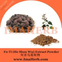 China fo-ti extract he shou wu extract,Polygonum multiflorum extract in stock from Felicia@imaherb.com on sale
