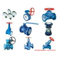 PTFE / F4 Lined Butterfly Valve (Ball Valves CS/F46, D371F4-16C, Pneumatic Q641F46-16C) for Chemical Acid Tank