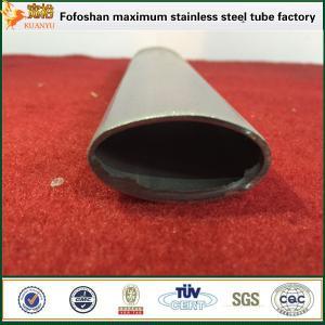 Quality New Design Stainless Steel Irregular Tube Elliptical Shape wholesale