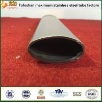 Quality Stainless Steel Irregular Tube Round Single Slot Tube For Balustrade Accessories wholesale