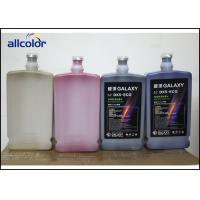 China Epson DX5 Eco Solvent Printer Ink CMYK For Outdoor Advertising Industry on sale