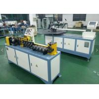 China Flexible Straightening And Cutting Machine For Aluminum / Copper / Steel Tube on sale