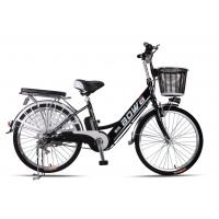 Quality 48V Womens Hybrid City Lithium Bicycle , Electric Assisted Bicycle With Electric Motor wholesale