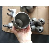 China Surface Finished Titanium Alloy Pipe Fittings Concentric Pipe Reducer ASME B16.9 on sale