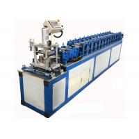 China Hydraulic Cutting Door Shutter Roll Forming Machine For Galvanized Steel Metal Profile on sale