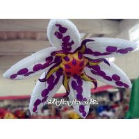 2m Hanging Inflatable Flower for Exhibition and Wedding Supplies