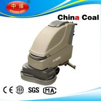 China Double brushes walk behind floor scrubber on sale